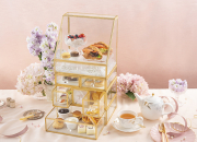 "[新聞稿] Uptop Bistro and Bar呈獻最新「珠光寶氣」主題下午茶 Uptop Bistro and Bar presents ""Brilliance of Pearls"" Afternoon Tea Set"