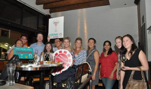 HandsOn Hong Kong invites you to drink for a good cause this October!