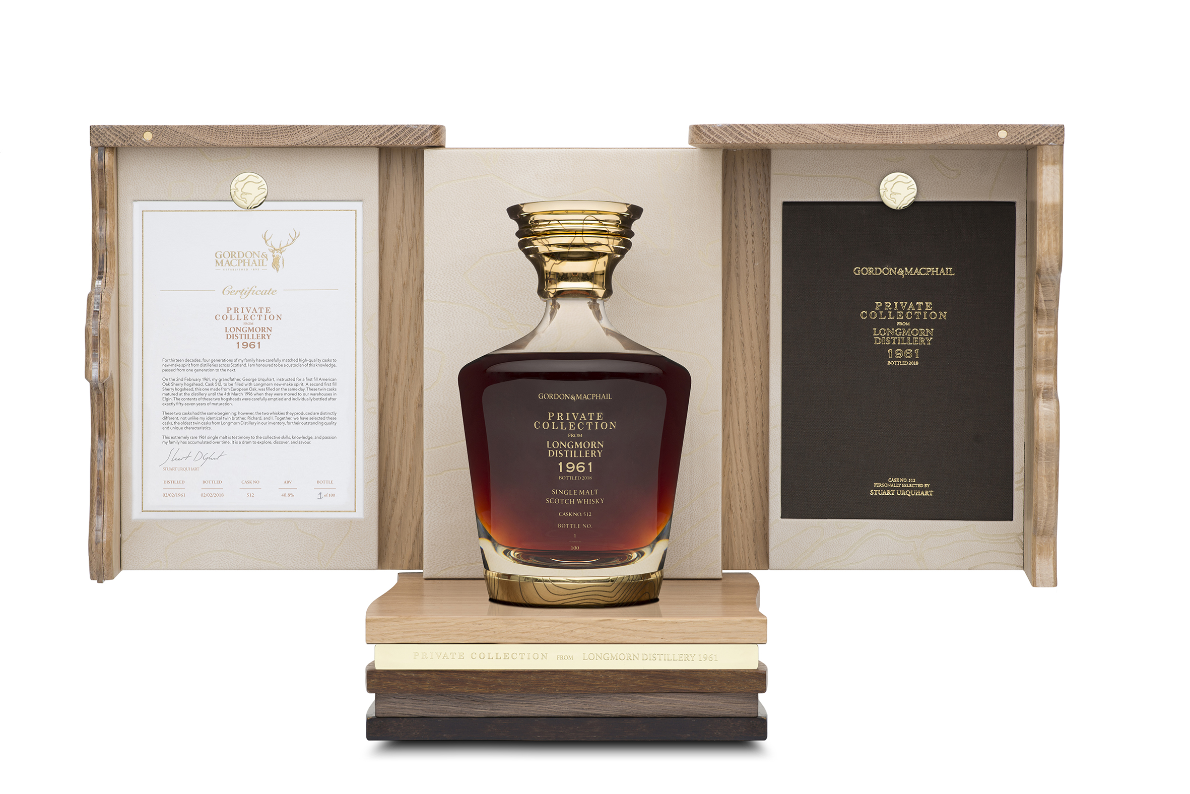 Twin Cask Collection- Cask-512 Open Box