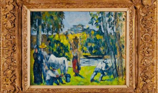 Press Release: Rare Exhibition of Paul Cezanne's 'La Vie des Champs' at Macey & Sons Gallery