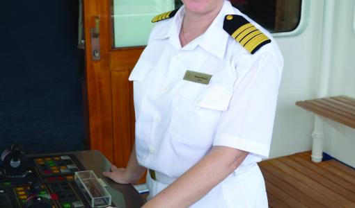 Press Release: An Historic Cruise Industry Achievement: Captain Serena Melani Will Be First Woman Captain To Launch A Brand New Cruise Ship
