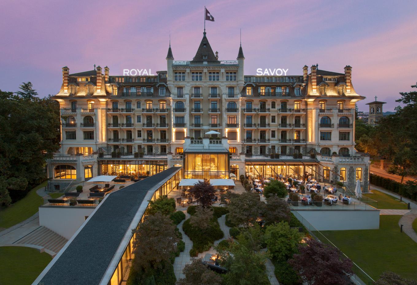 洛桑萨沃耶皇家酒店精心打造瑞士葡萄酒品鉴之旅