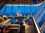 在佛山罗浮宫索菲特酒店天际酒吧尽享比肩城市之巅的炫彩夜生活
