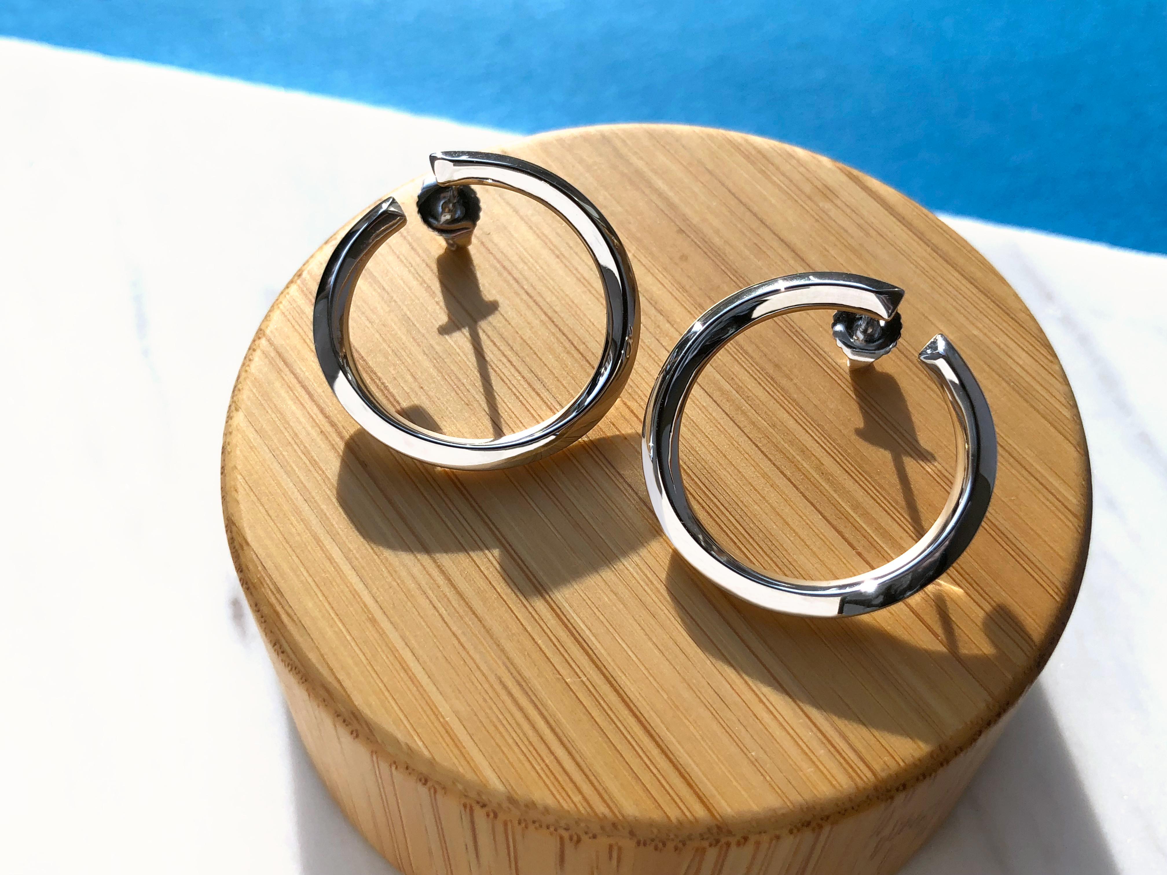 Large rilo earrings