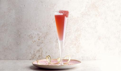 The Blushing Lady — An Elegant Valentine's Day Cocktail by Morton's of Chicago