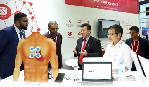 M800於GITEX公布物聯網策略推動互聯醫療及智慧生活發展