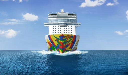 NORWEGIAN ENCORE HULL ARTWORK UNVEILED - Celebrated Spanish Artist Eduardo Arranz-Bravo Commissioned to Design the Hull of the Final Breakaway-Plus Class Ship