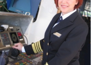 An Historic Cruise Industry Achievement: Captain Serena Melani Will Be First Woman Captain To Launch A Brand New Cruise Ship