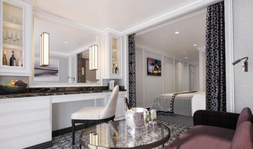 Regent Seven Seas Cruises® Reveals Seven Seas SplendorTM Suite Details and Artistic Renderings