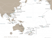 Regent Seven Seas Cruises Announces 2022 World Cruise: A Fascinating and Rare 120-Night Asia-Pacific Circumnavigation