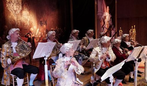 充滿華麗服裝的《莫扎特的魔法》