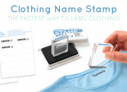 The BEST and FASTEST labelling solution - Clothing Name Stamp