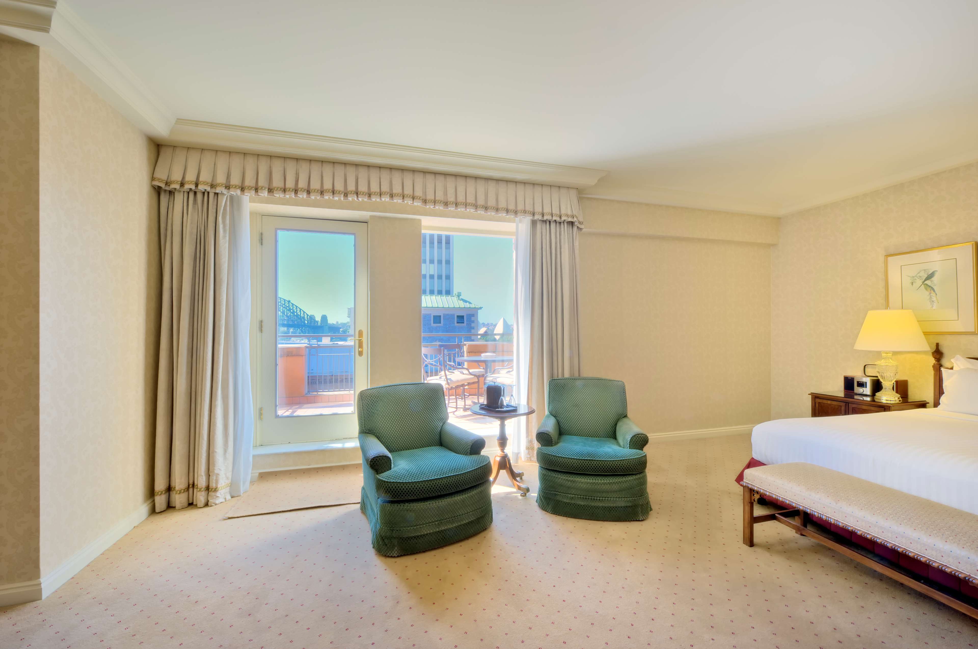 Deluxe Terrace King Room at Sir Stamford at Circular Quay