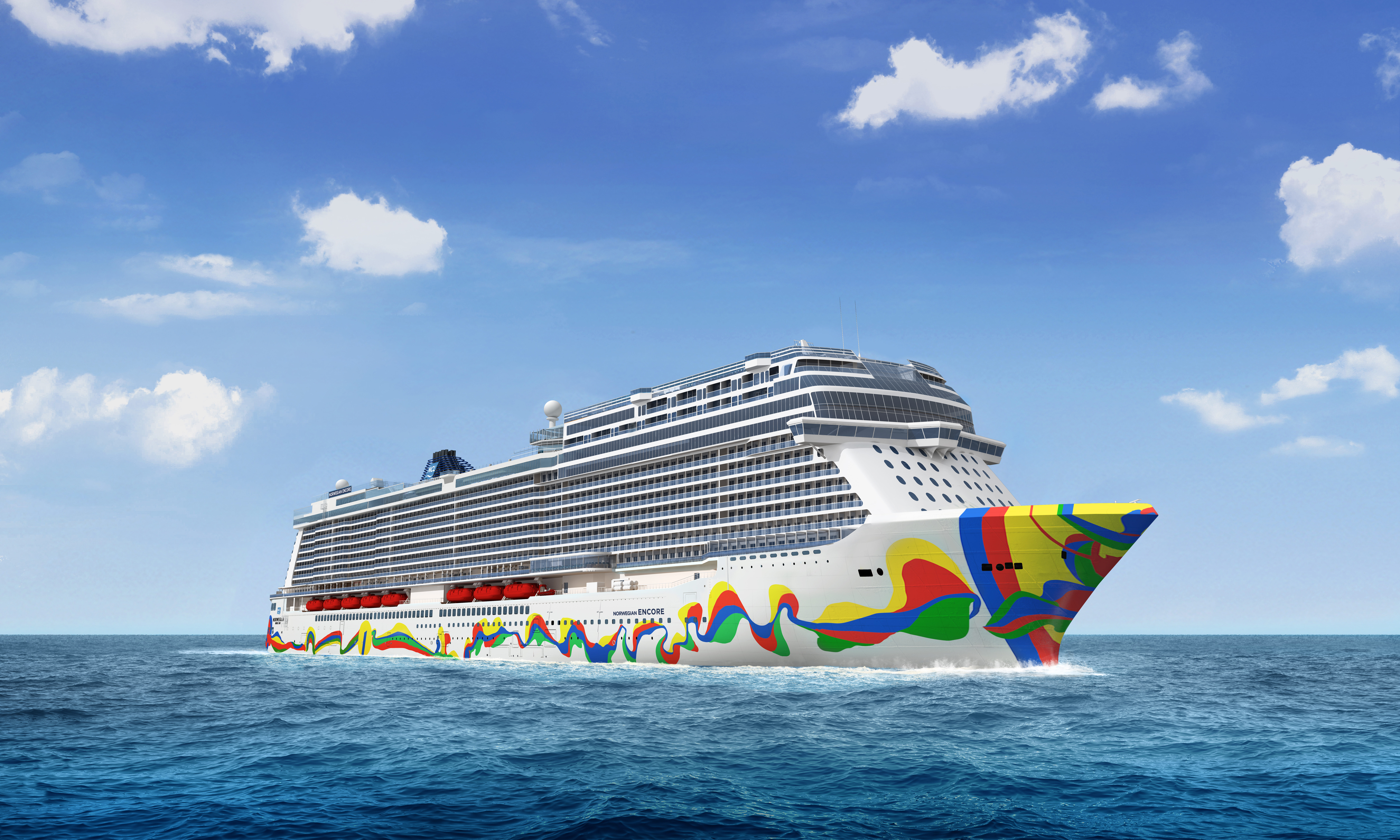 挪威永恆號將於11月從邁阿密展開處女首航