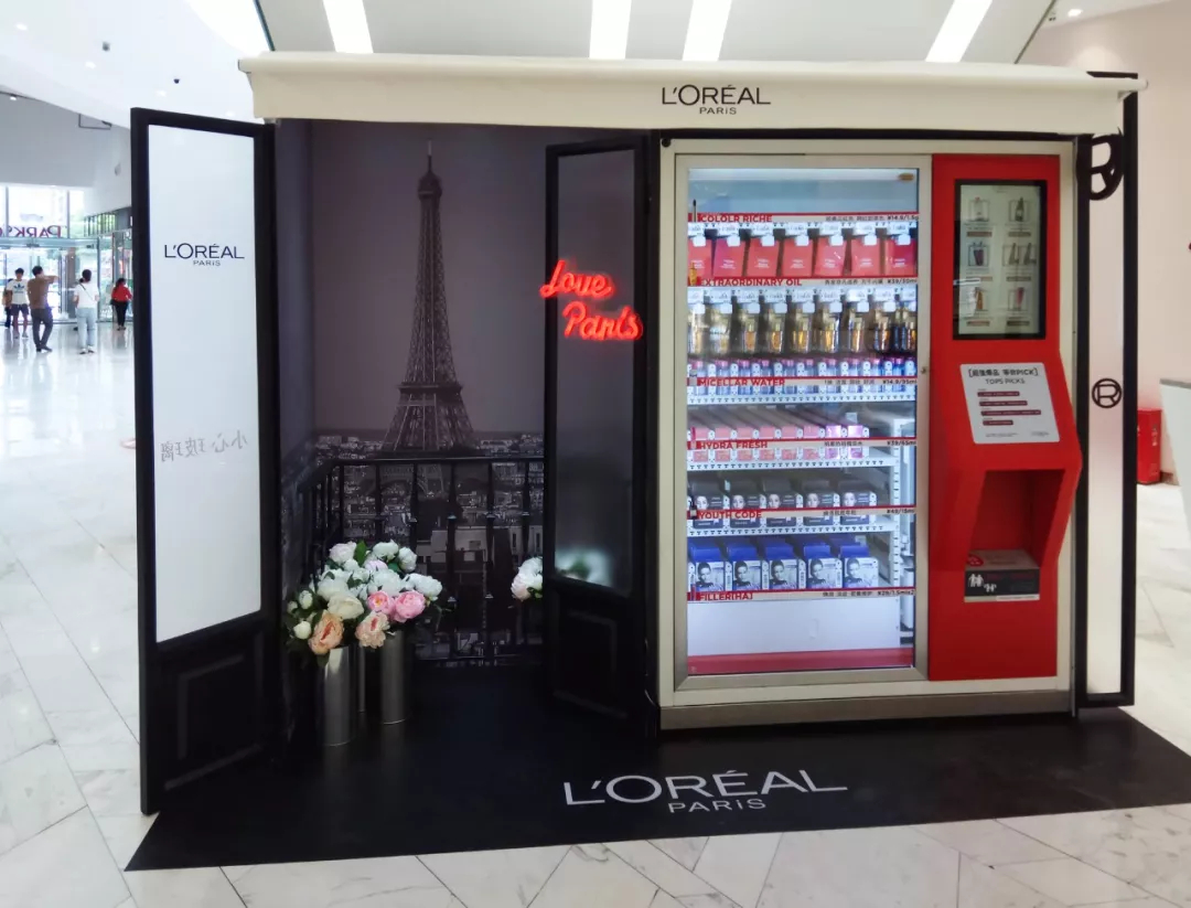 Robotic Shop with Loreal