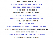 The first ever Finnish week to be held in Hong Kong
